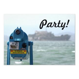 """Opinión de Alcatraz Invitación 5"""" X 7"""""""