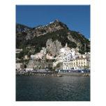 Opinión de Amalfi, mar Membrete