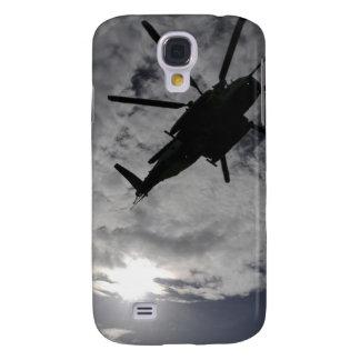 Opinión de ángulo bajo de un CH-53E Funda Para Galaxy S4