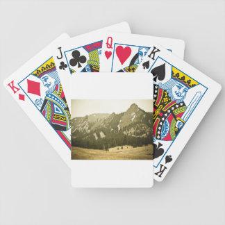 Opinión de antaño de Flatiron Baraja Cartas De Poker