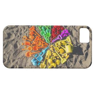Opinión de arriba los niños coloridos plásticos iPhone 5 Case-Mate carcasas