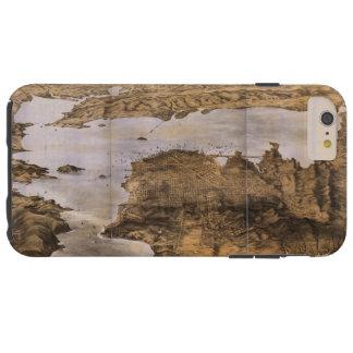 Opinión de Birdseye de San Francisco California Funda Para iPhone 6 Plus Tough