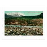 Opinión de Birdseye de Skagway, AlaskaSkagway, AK Tarjetas Postales