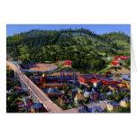Opinión de Bluefield Virginia Occidental Birdseye Felicitaciones