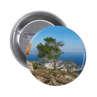 Opinión de Capri de la isla del Monte Solaro