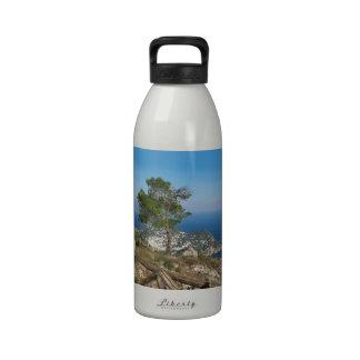 Opinión de Capri de la isla del Monte Solaro Botellas De Agua Reutilizables