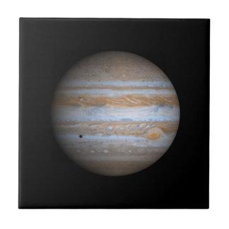 Opinión de Cassini de la NASA de Júpiter Tejas Cerámicas