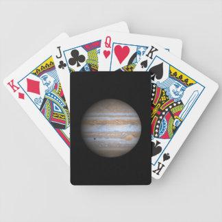 Opinión de Cassini de la NASA de Júpiter Cartas De Juego