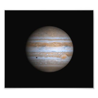 Opinión de Cassini de la NASA de Júpiter Fotografias
