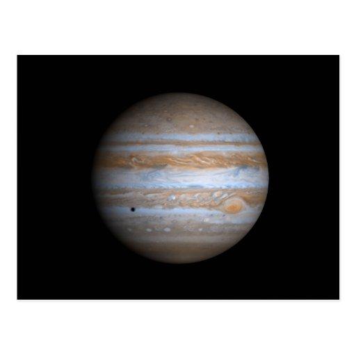 Opinión de Cassini de la NASA de Júpiter Postales