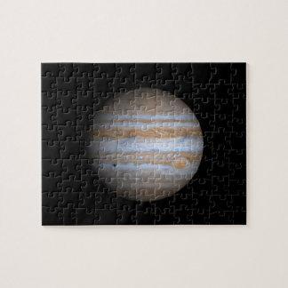 Opinión de Cassini de la NASA de Júpiter Puzzle