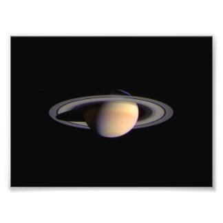 Opinión de Cassini de la NASA del espacio de Satur Cojinete