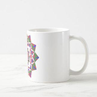 OPINIÓN DE CHAKRA Formación geométrica artística Tazas De Café