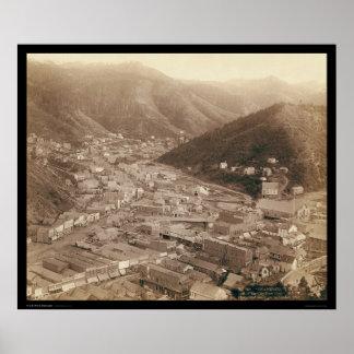 Opinión de Deadwood de Mt. Moriah SD 1888 Posters