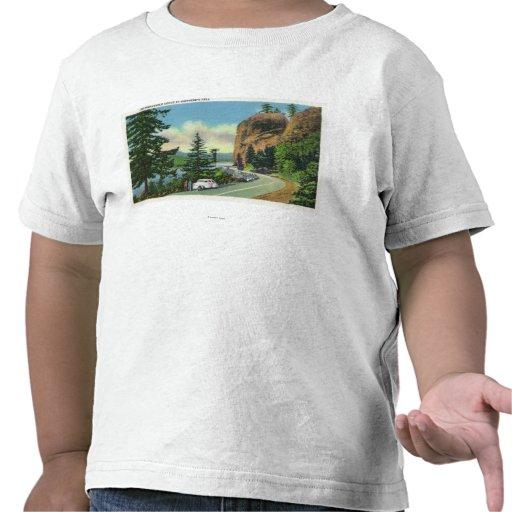 Opinión de Dell de Shepperd de la garganta Camiseta