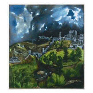 Opinión de El Greco de la impresión de la foto de  Fotografía