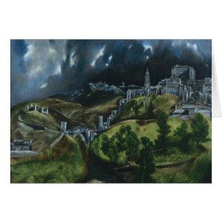 Opinión de El Greco de Toledo Felicitación