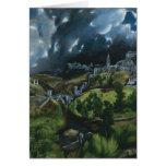 Opinión de El Greco de Toledo Tarjeta De Felicitación