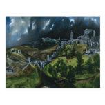 Opinión de El Greco de Toledo Tarjeta Postal