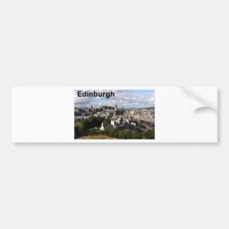 Opinión de Escocia Edimburgo (St.K) Pegatina Para Auto