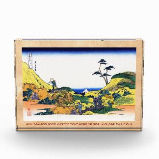 Opinión de Hokusai Fuji del katsushika de Shimomeg