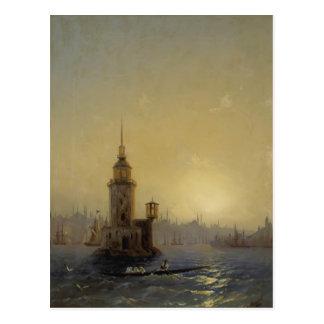 Opinión de Ivan Aivazovsky- de la torre de Leandro Postales