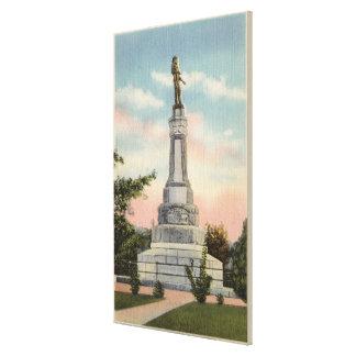 Opinión de James W. Marshall Monument # 1 Lienzo Envuelto Para Galerías