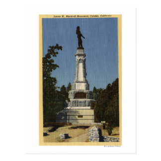 Opinión de James W. Marshall Monument # 2 Postales