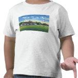 Opinión de la alcantarilla del soporte magnífico, camisetas