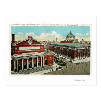 Opinión de la avenida del mA de la sinfonía, Tarjeta Postal