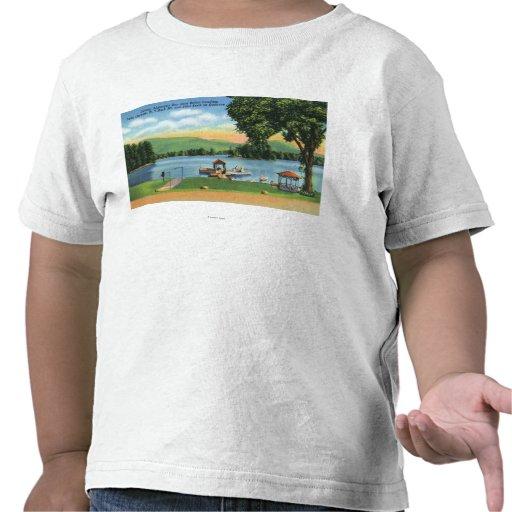 Opinión de la bahía del Algonquin del dólar Mt y Camisetas
