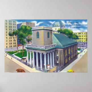 Opinión de la calle de Tremont reyes Chapel Impresiones