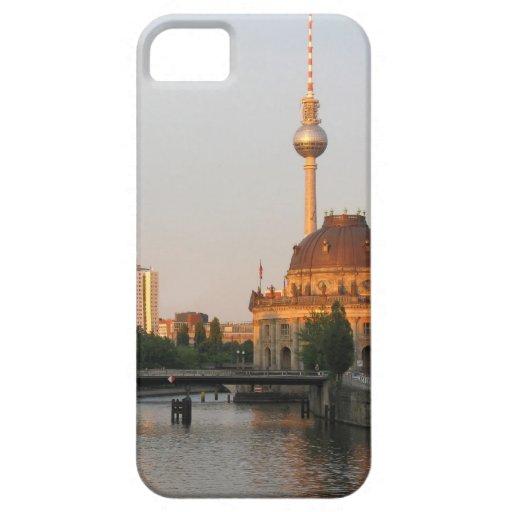 Opinión de la ciudad de Berlín sobre la diversión iPhone 5 Funda