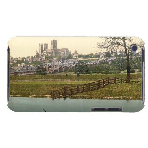 Opinión de la ciudad de Lincoln, Lincolnshire, Ing iPod Touch Fundas
