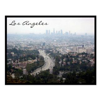 opinión de la ciudad de Los Ángeles Tarjetas Postales