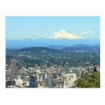 Opinión de la ciudad de Portland, Oregon, fondo de Postales