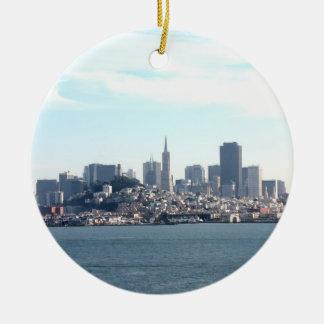 Opinión de la ciudad de San Francisco de la bahía Adornos