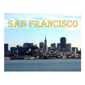 Opinión de la ciudad de San Francisco de la bahía Postal