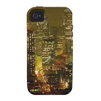Opinión de la ciudad de Seattle iPhone 4/4S Funda