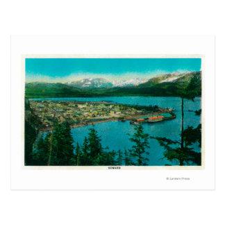 Opinión de la ciudad de Seward, AlaskaSeward, AK Postal
