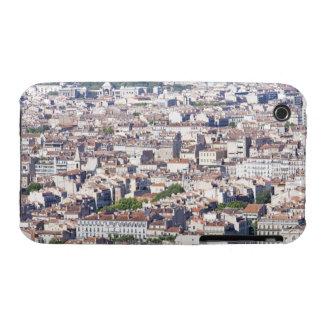 Opinión de la ciudad en Marsella Case-Mate iPhone 3 Protectores