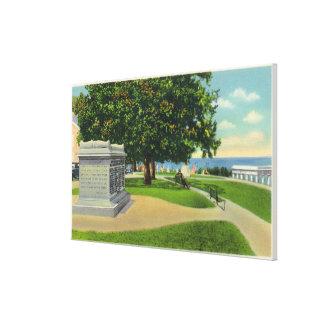 Opinión de la colina de Coles del monumento del en Lona Envuelta Para Galerías