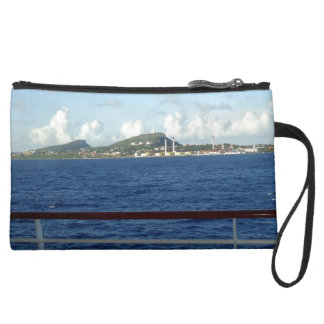 Opinión de la costa costa de Curaçao de la nave