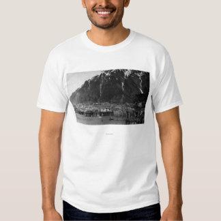 Opinión de la costa fotografía de Juneau, Alaska Camisas