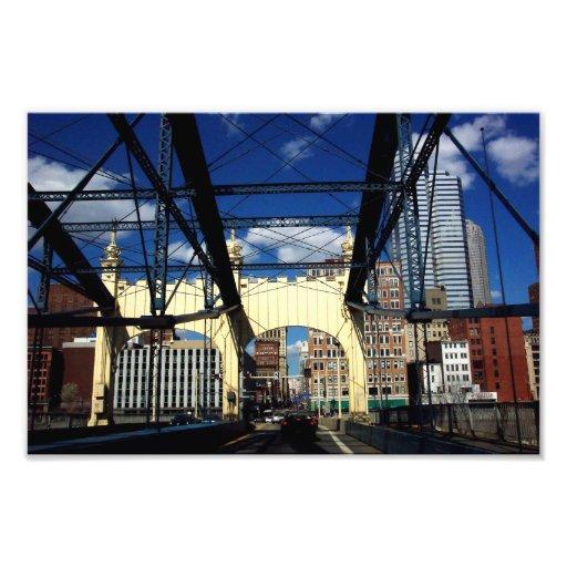 Opinión de la impresión de la foto de Pittsburgh d