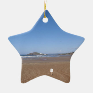 Opinión de la isla del municipio escocés de la ornamento para arbol de navidad