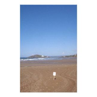 Opinión de la isla del municipio escocés de la pla  papeleria de diseño