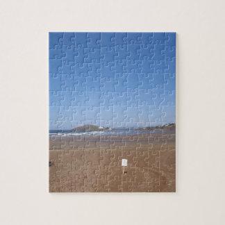 Opinión de la isla del municipio escocés de la pla puzzles con fotos