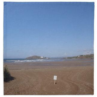 Opinión de la isla del municipio escocés de la pla servilletas