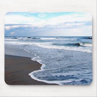 opinión de la línea de la playa alfombrillas de raton